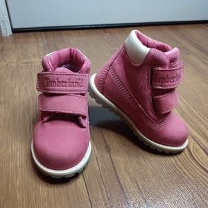 Toddler Timberland Boots Pink Size 4
